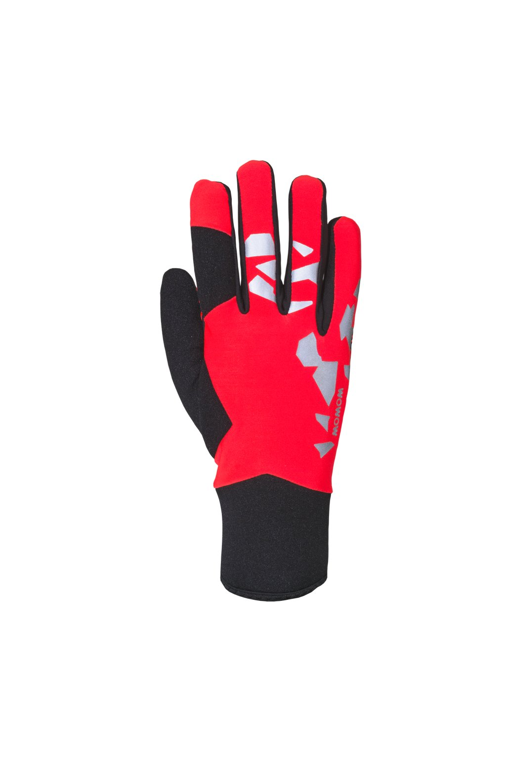 Rukavice THUNDER FRONT RED BIG