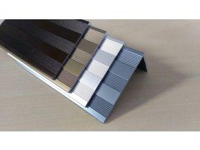Krycí lišta Terafix 52x30 – stříbrná 4 m