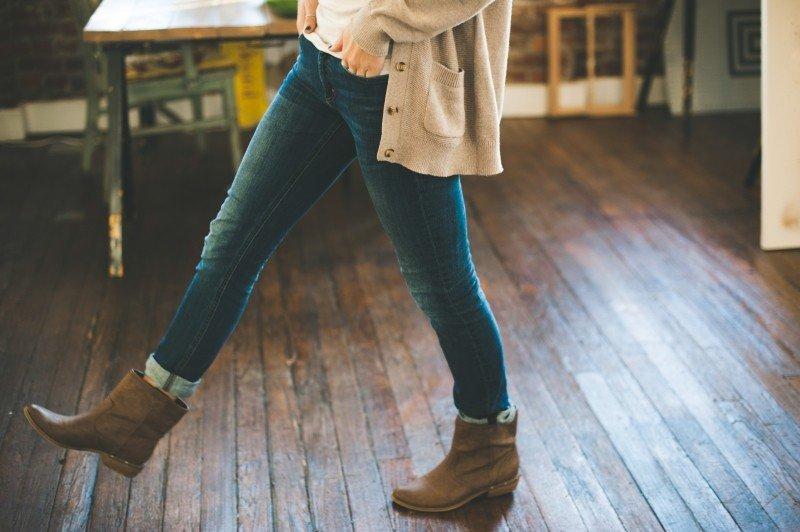 Hledáte vhodné džíny do kozaček? Poradíme!
