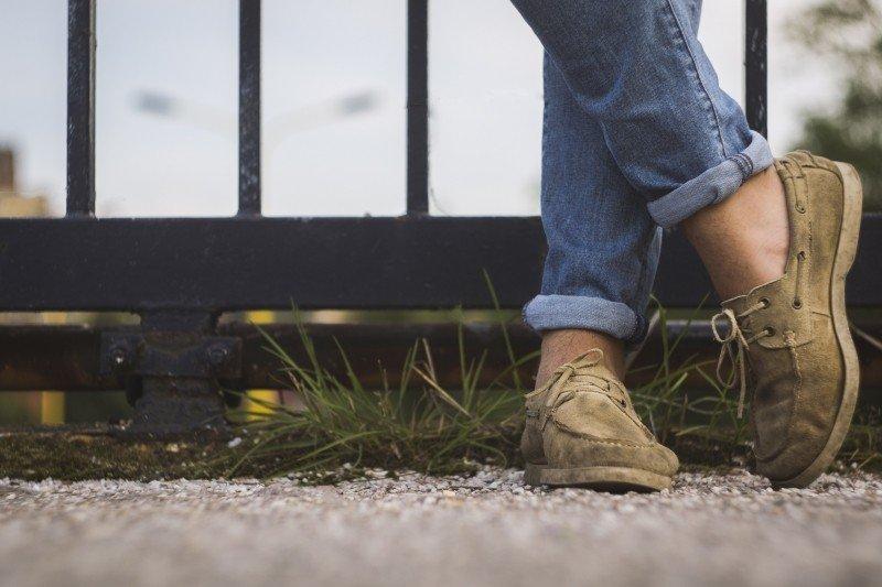 Jak ohrnout džíny?