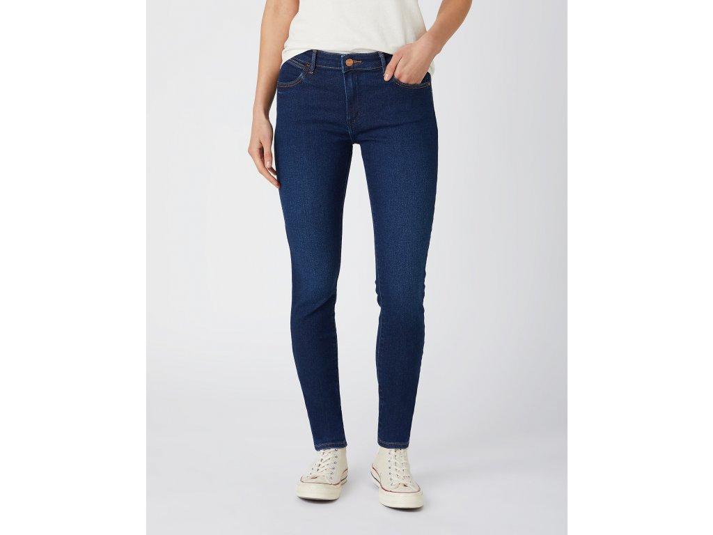 kalhoty Wrangler SKINNY DREAM BLUE