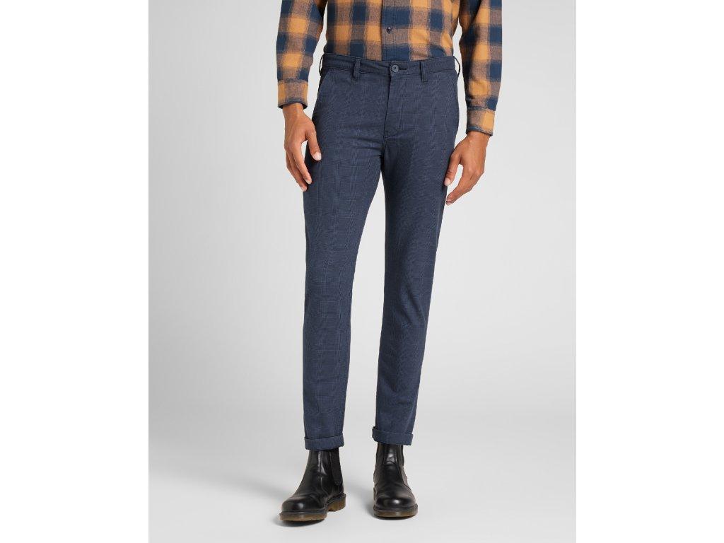 kalhoty Lee SLIM CHINO ESTATE BLUE