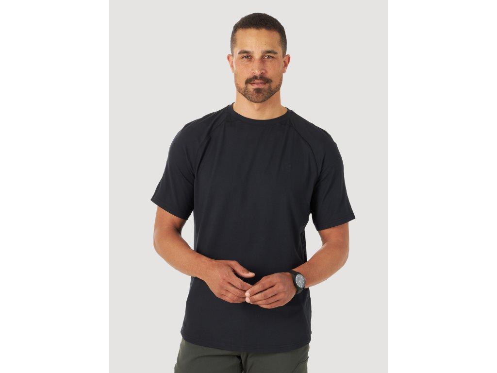 tričko Wrangler ATG PERFORMANCE JET BLACK