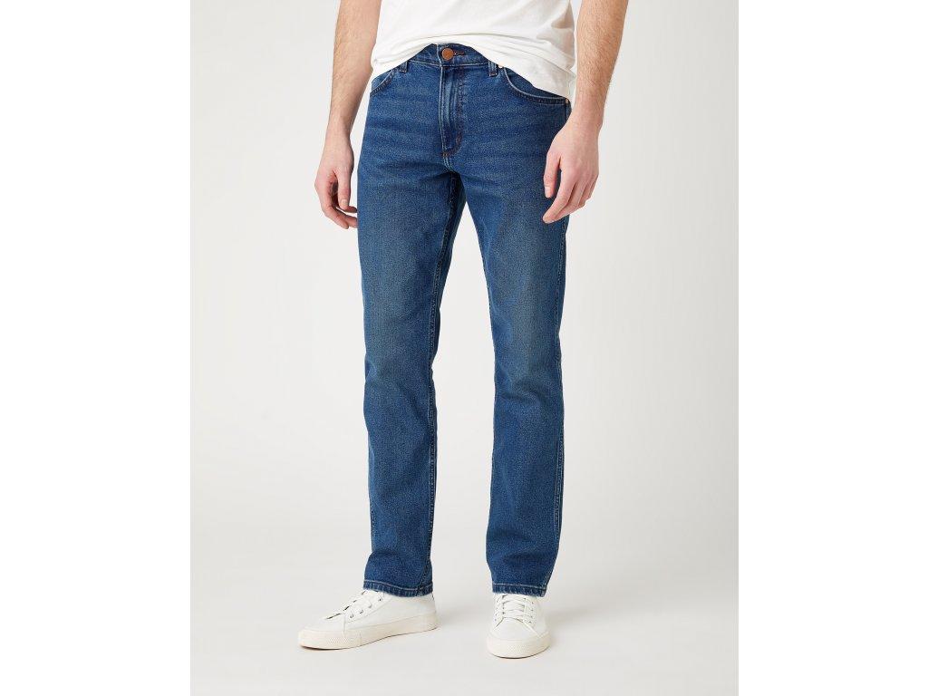 kalhoty Wrangler GREENSBORO BLUE SHIVER
