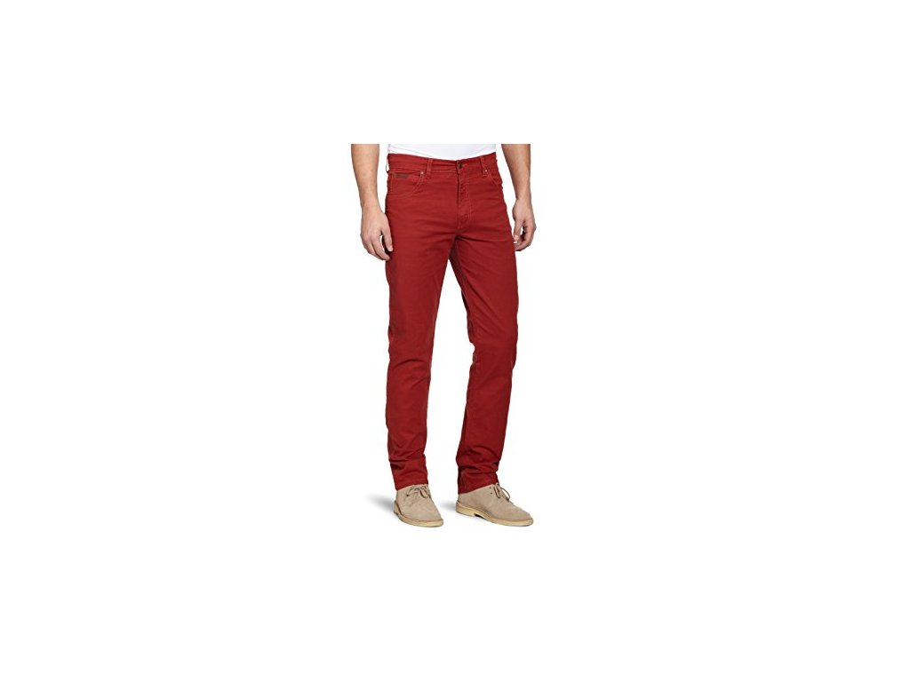 kalhoty Wrangler TEXAS STRETCH NEW RED