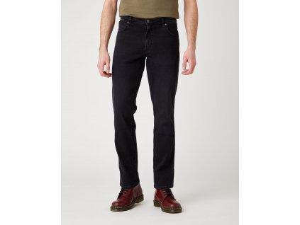 kalhoty Wrangler TEXAS SLIM BLACK CROW