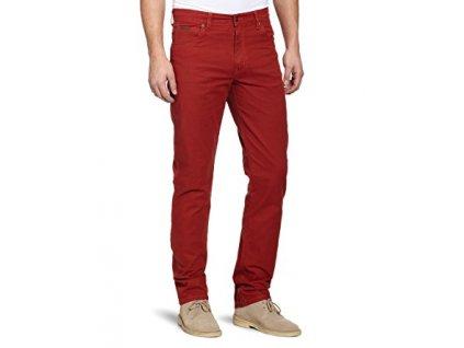 kalhoty Wrangler TEXAS STRETCH NEW RED