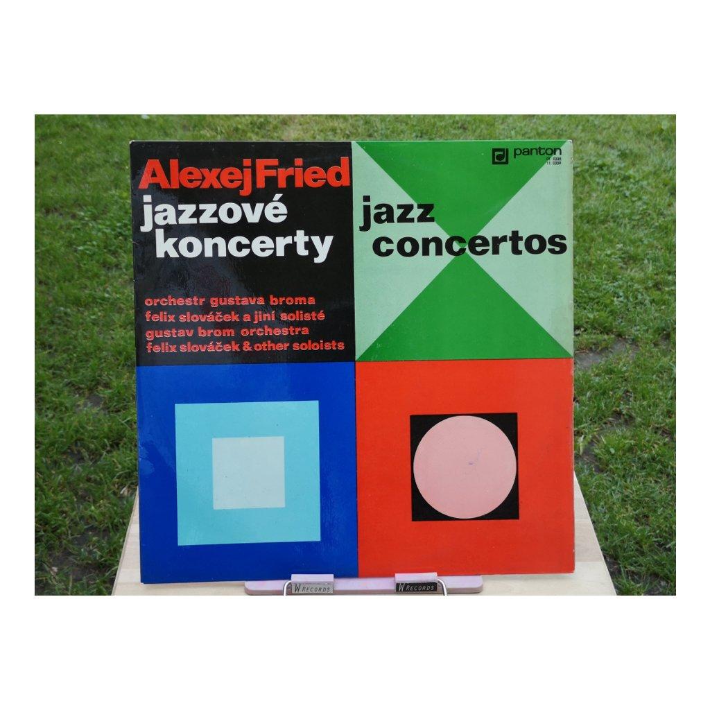Alexej Fried, Gustav Brom Orchestra, Felix Slováček – Jazzové Koncerty (Jazz Concertos) LP
