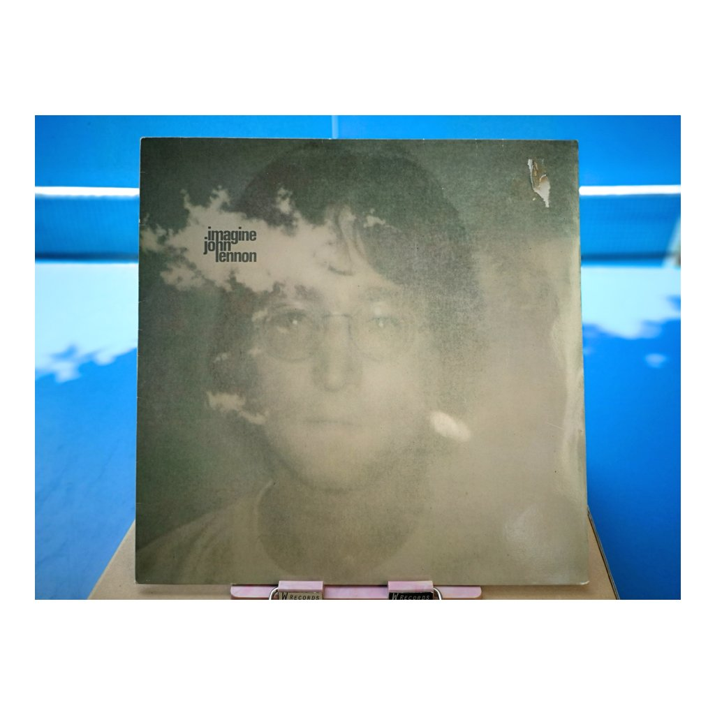 John Lennon + Plastic Ono Band With The Flux Fiddlers ‎– Imagine