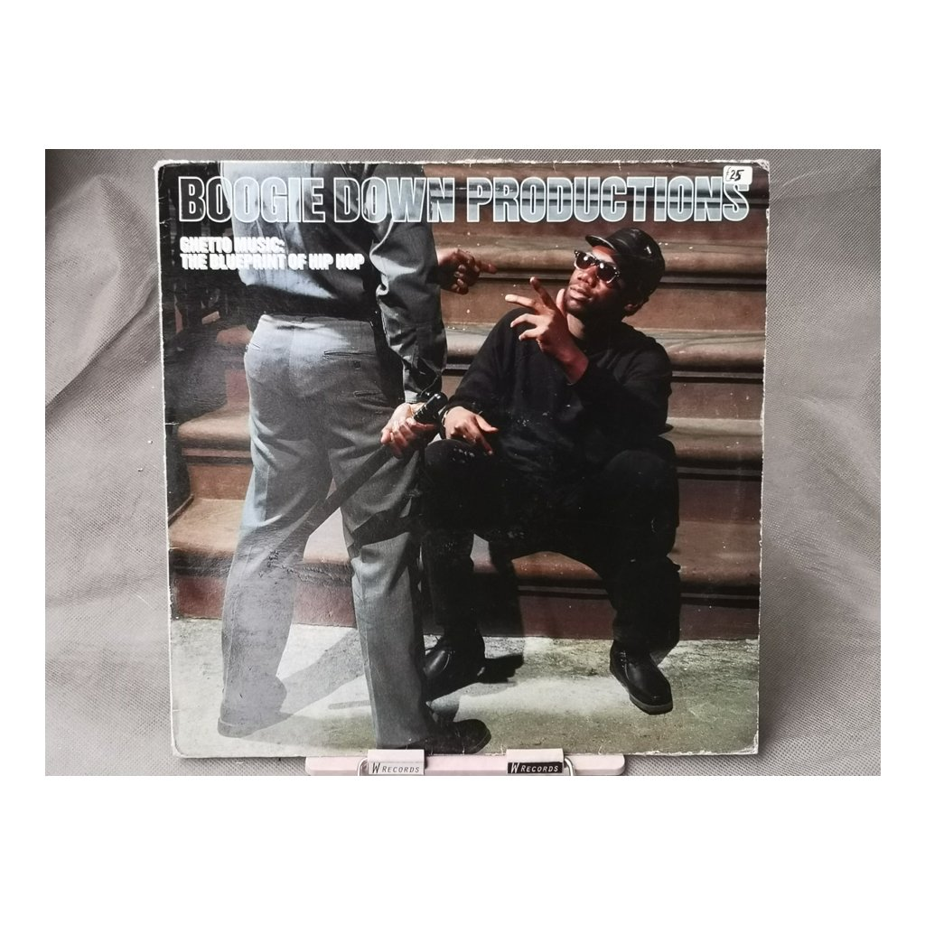 Boogie Down Productions – Ghetto Music: The Blueprint Of Hip Hop