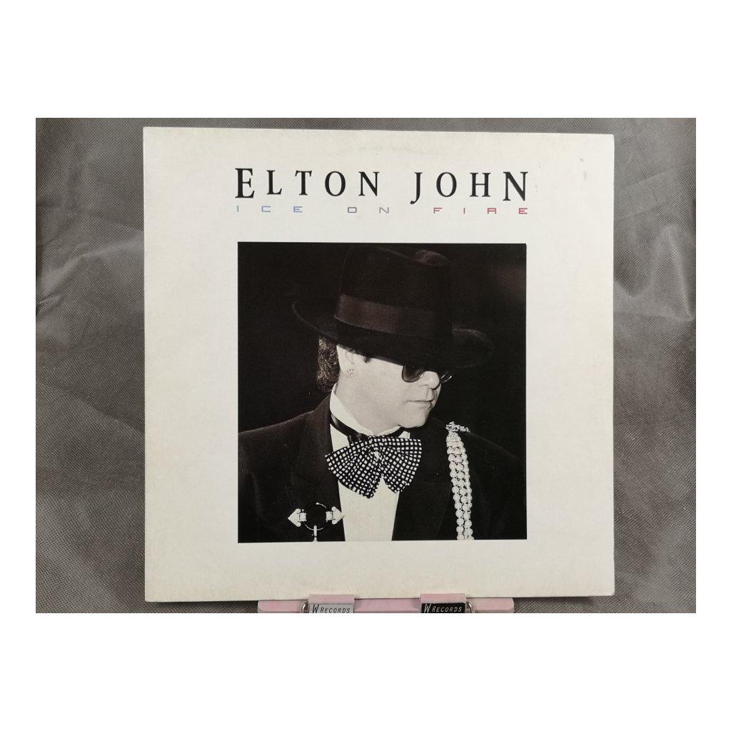 Elton John – Ice On Fire LP