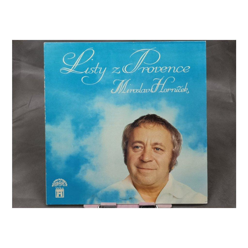 Miroslav Horníček – Listy Z Provence