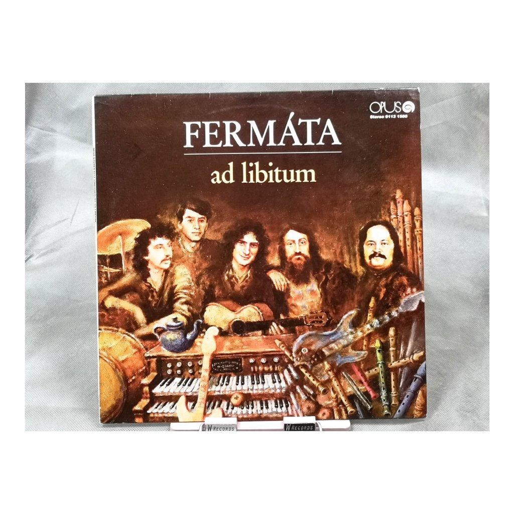 Fermáta – Ad Libitum LP