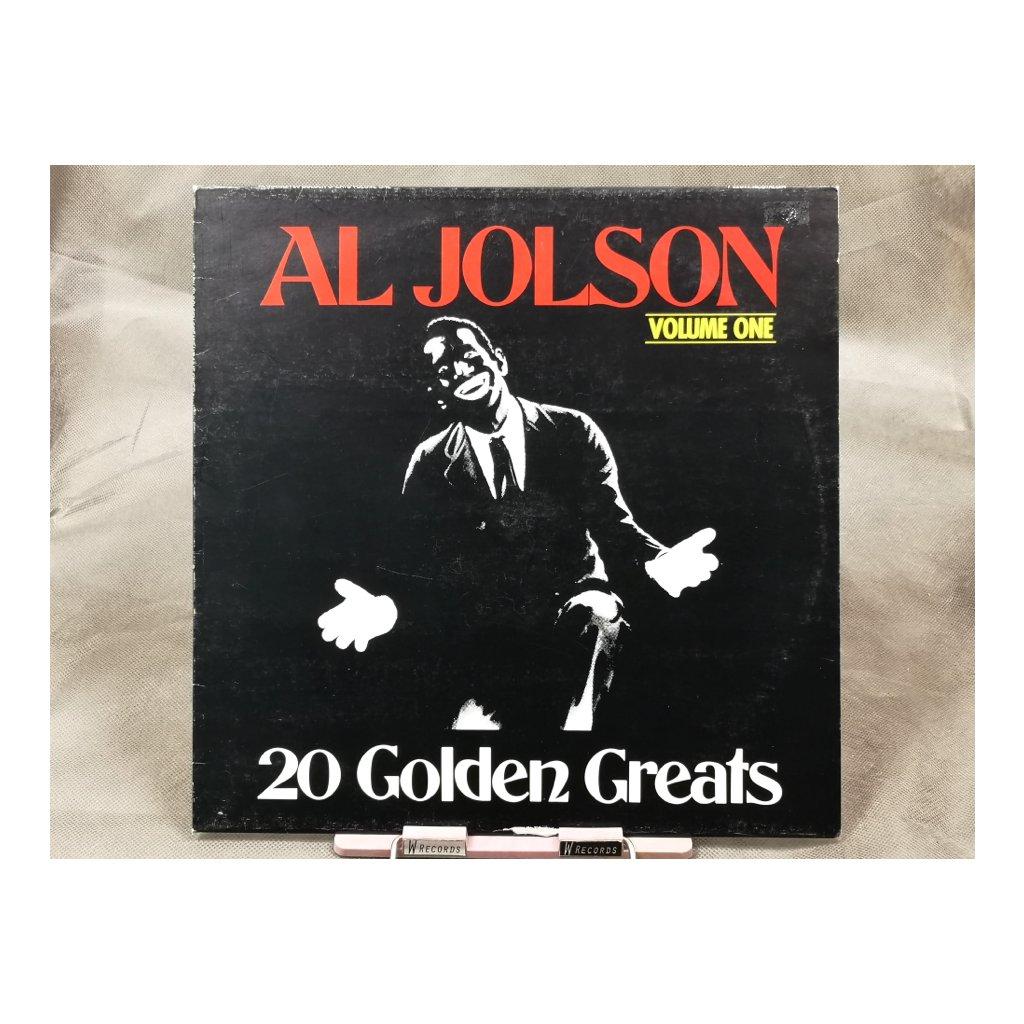 Al Jolson – 20 Golden Greats Volume One