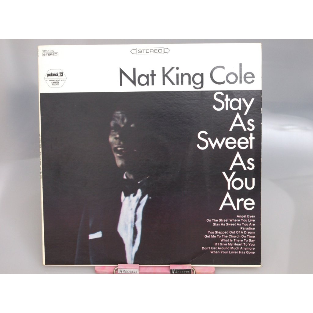 Nat King Cole – Stay As Sweet As You Are