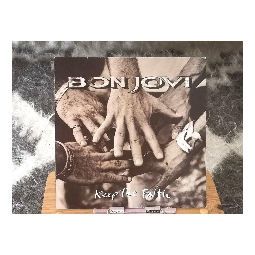 Bon Jovi – Keep The Faith LP