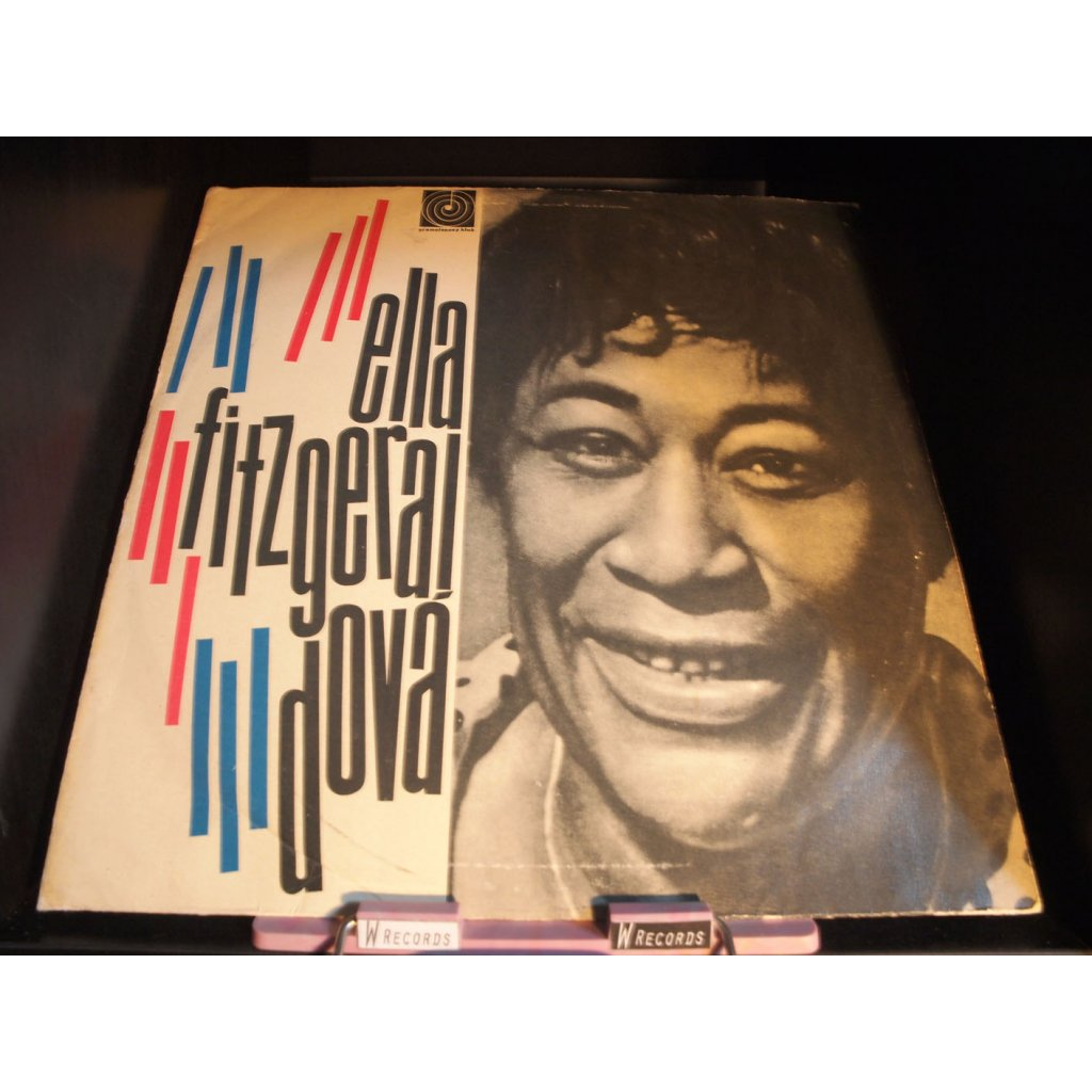 Ella Fitzgerald - Ella Fitzgeraldová LP