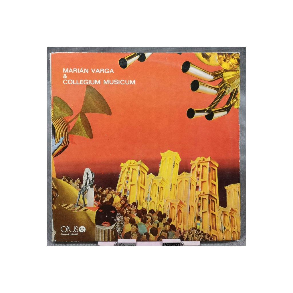Marián Varga & Collegium Musicum – Marián Varga & Collegium Musicum LP