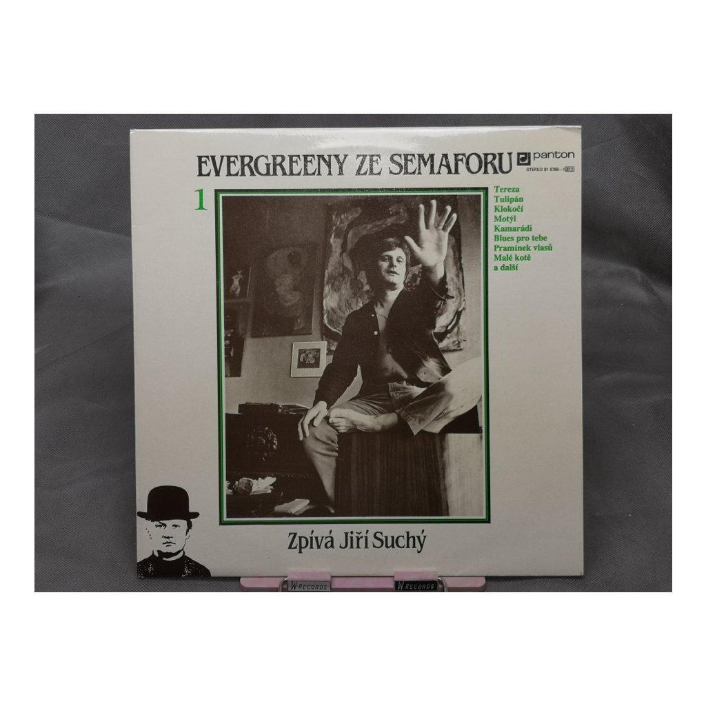 Jiří Suchý – Evergreeny Ze Semaforu 1 LP