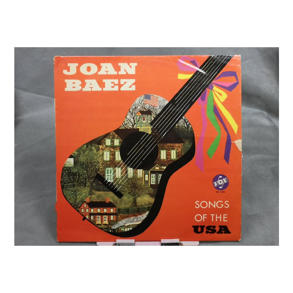 Joan Baez ‎– Songs Of The USA LP