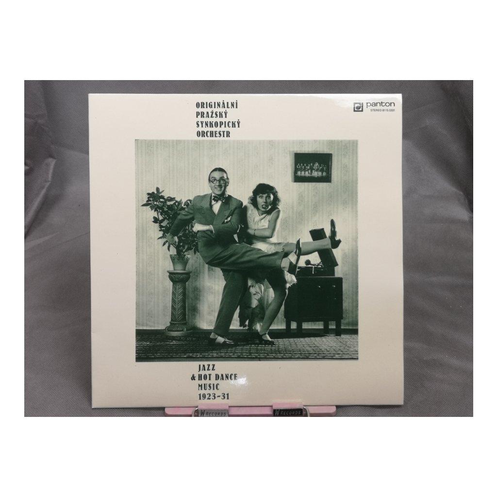 Originální Pražský Synkopický Orchestr – Jazz & Hot Dance Music 1923-31 LP