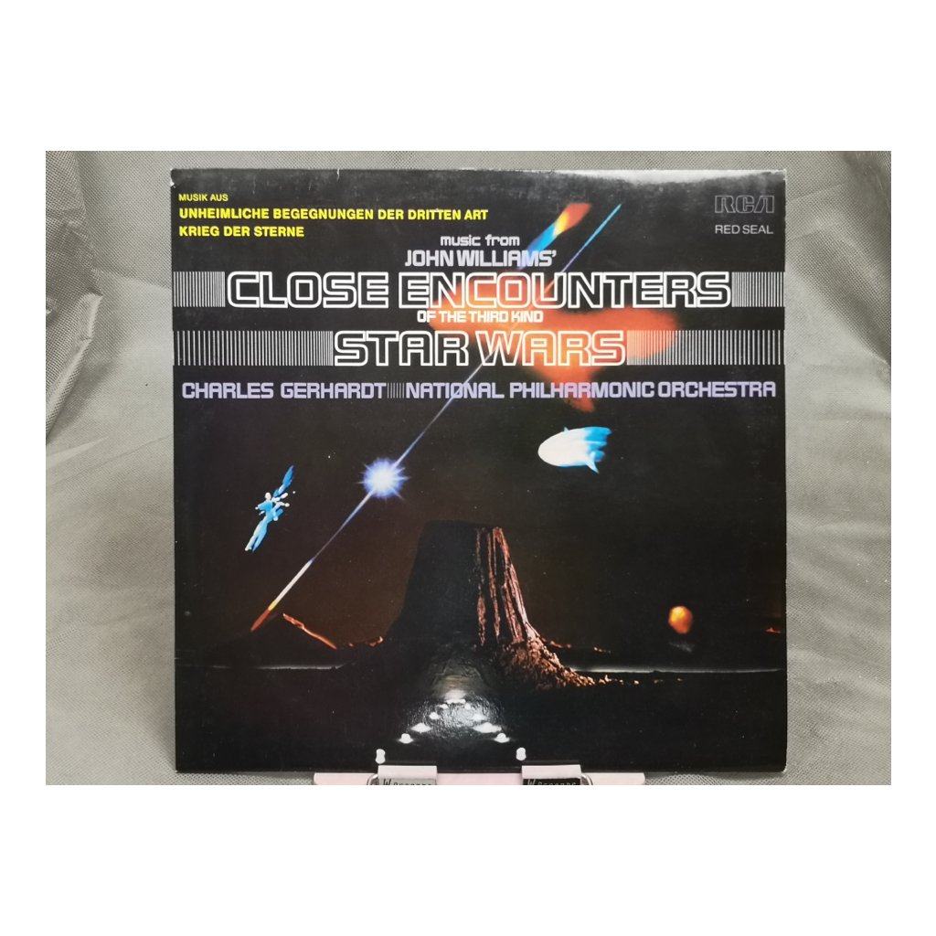 Charles Gerhardt / National Philharmonic Orchestra ‎– Music From John Williams' Close Encounters Of The Third Kind / Star Wars