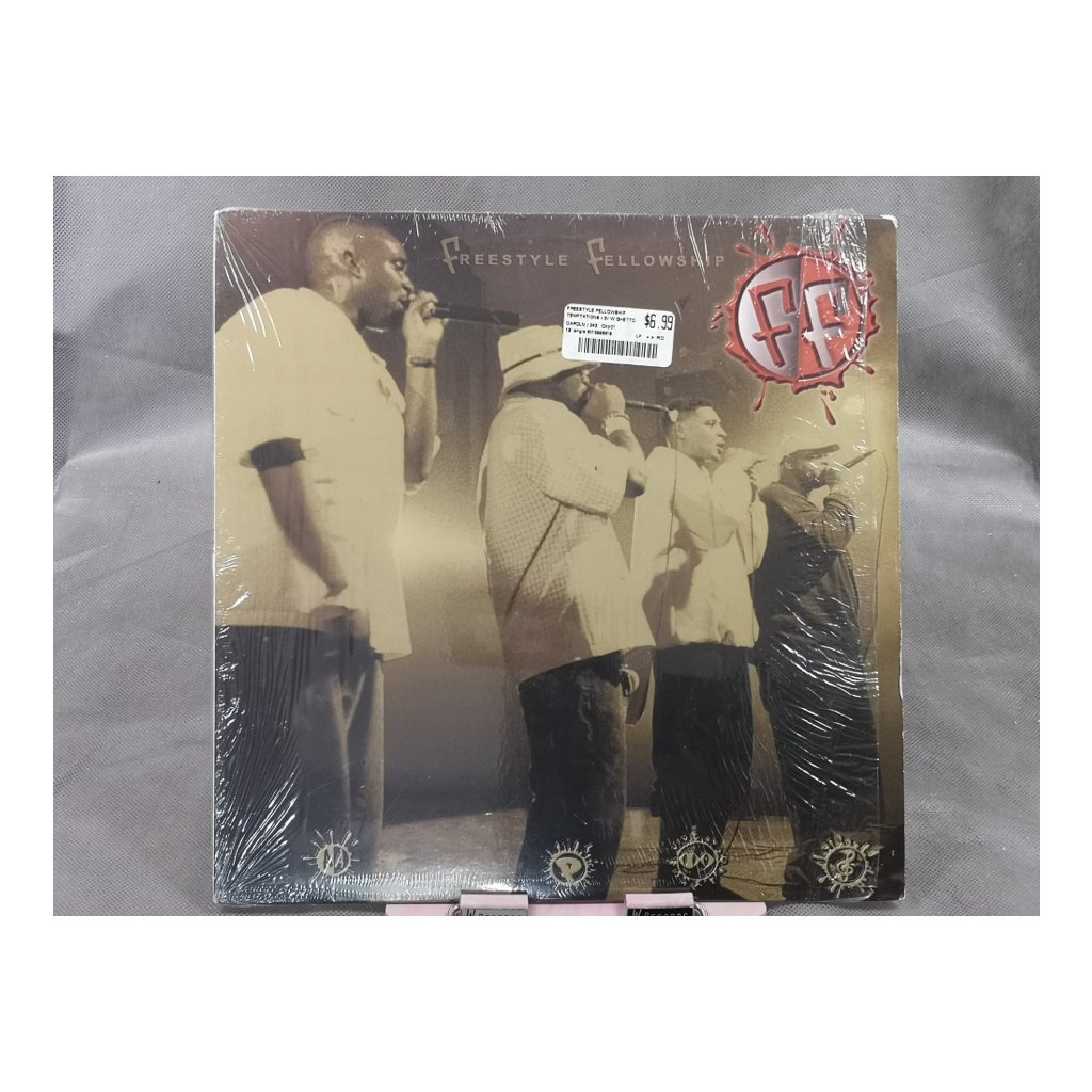 "Freestyle Fellowship – Temptations / Ghetto Youth 12"""