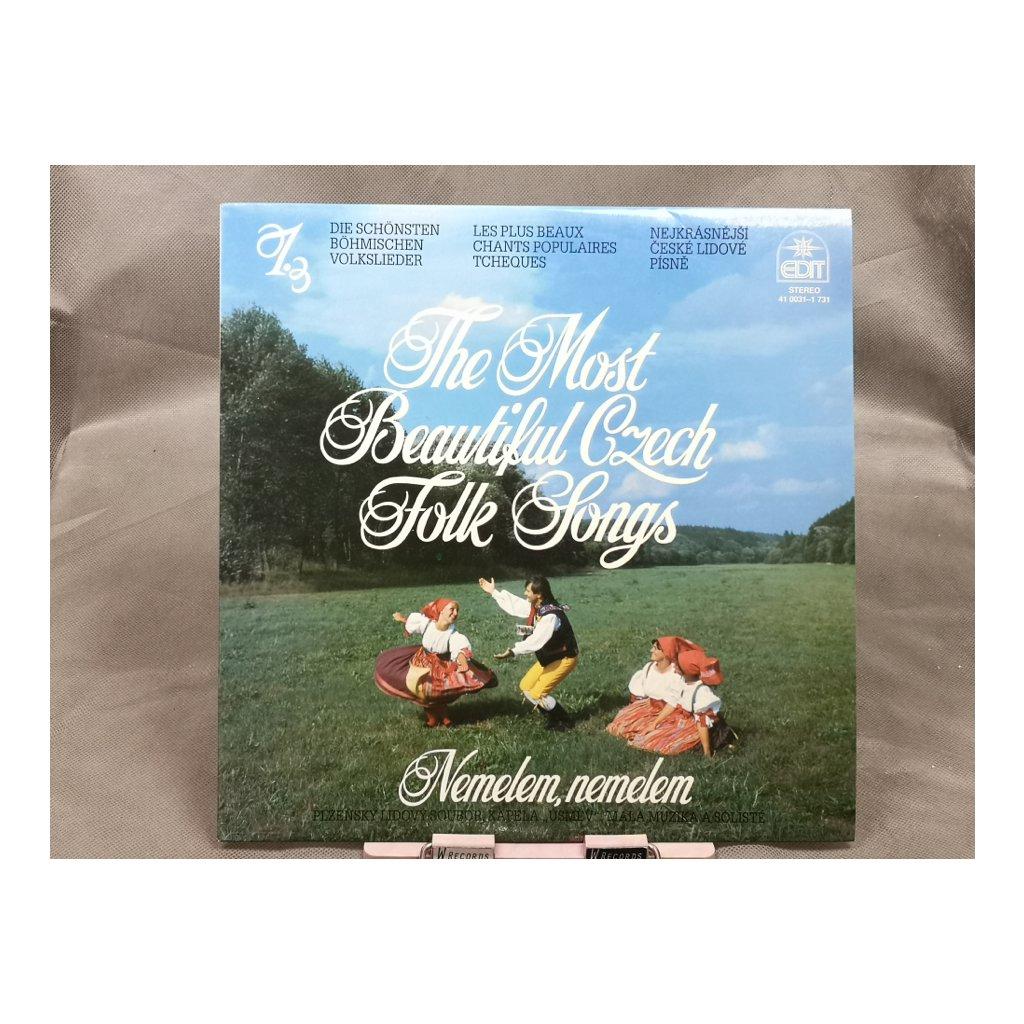 Various – Nemelem, Nemelem / The Most Beautiful Czech Folk Songs