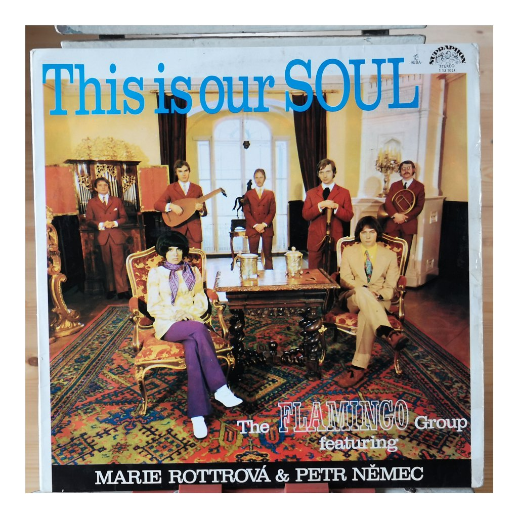 The Flamingo Group Featuring Marie Rottrová & Petr Němec ‎– This Is Our Soul