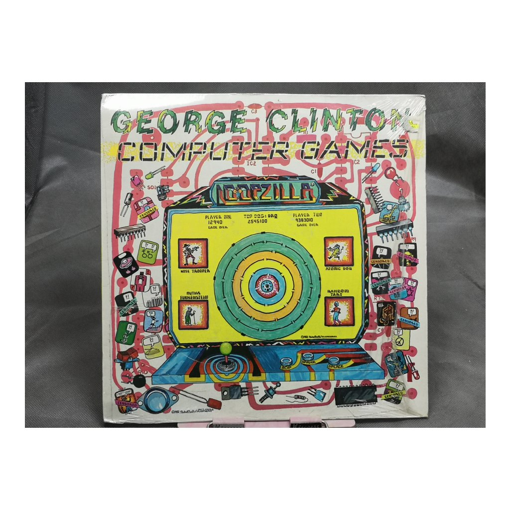 George Clinton ‎– Computer Games
