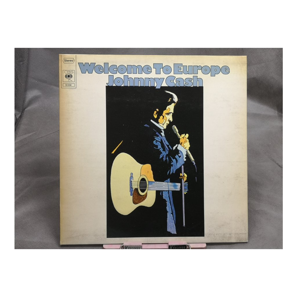 Johnny Cash – Welcome To Europe