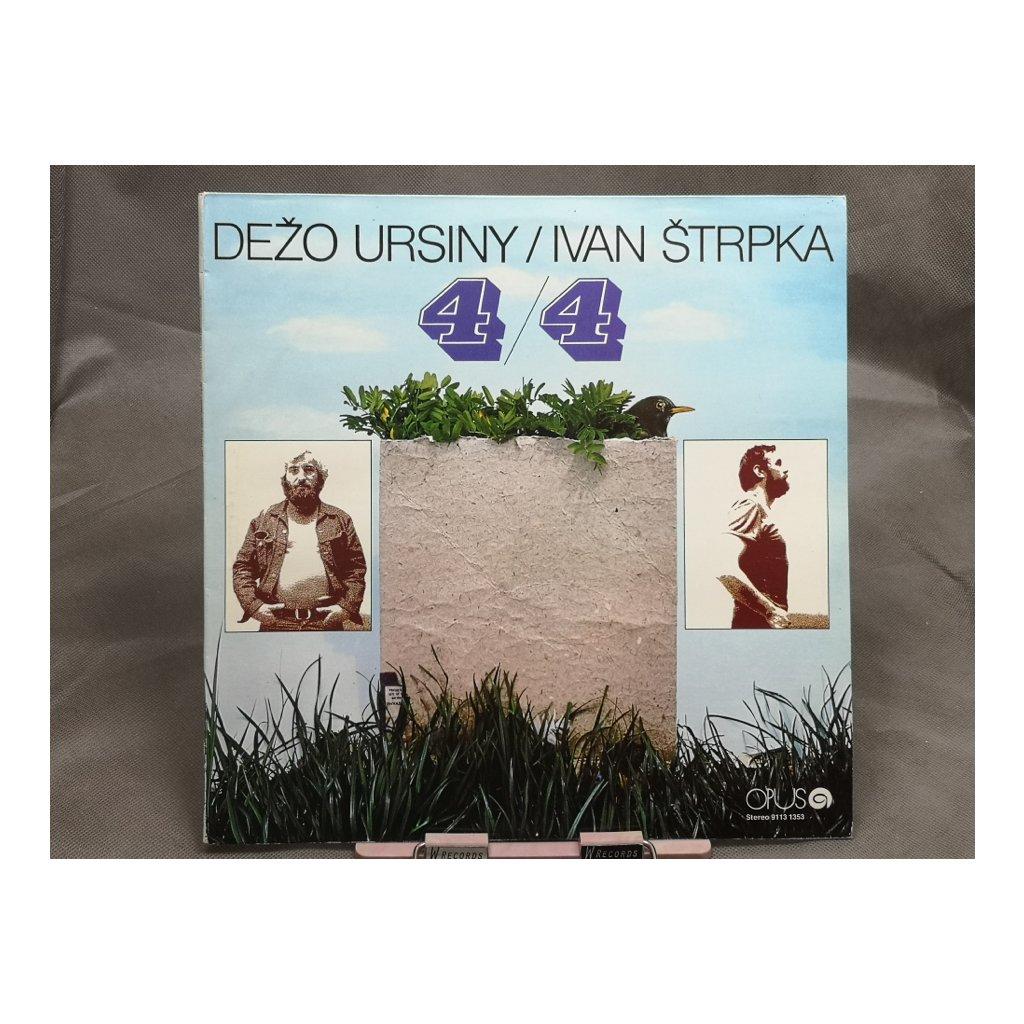 Dežo Ursiny / Ivan Štrpka – 4/4 LP