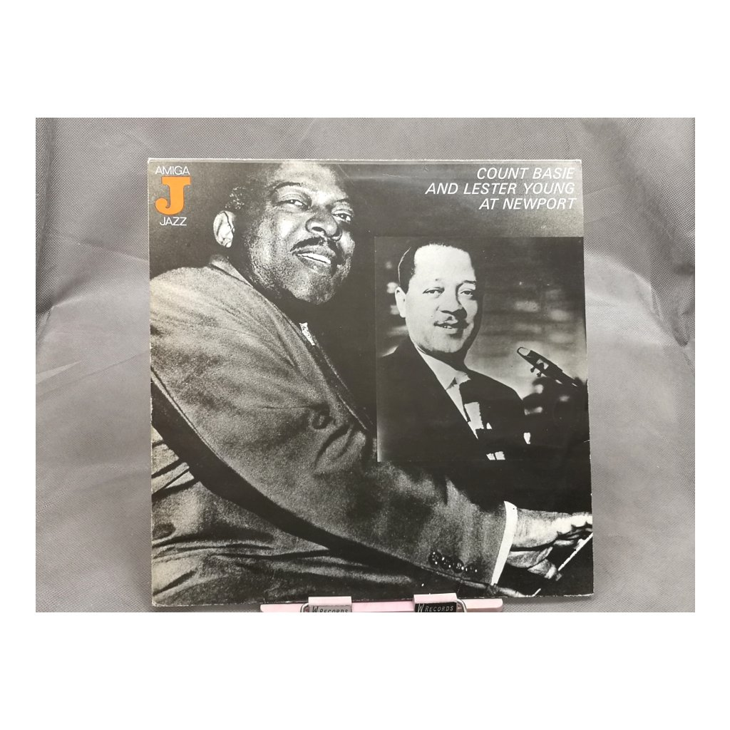 Count Basie, Lester Young ‎– Count Basie And Lester Young At Newport LP