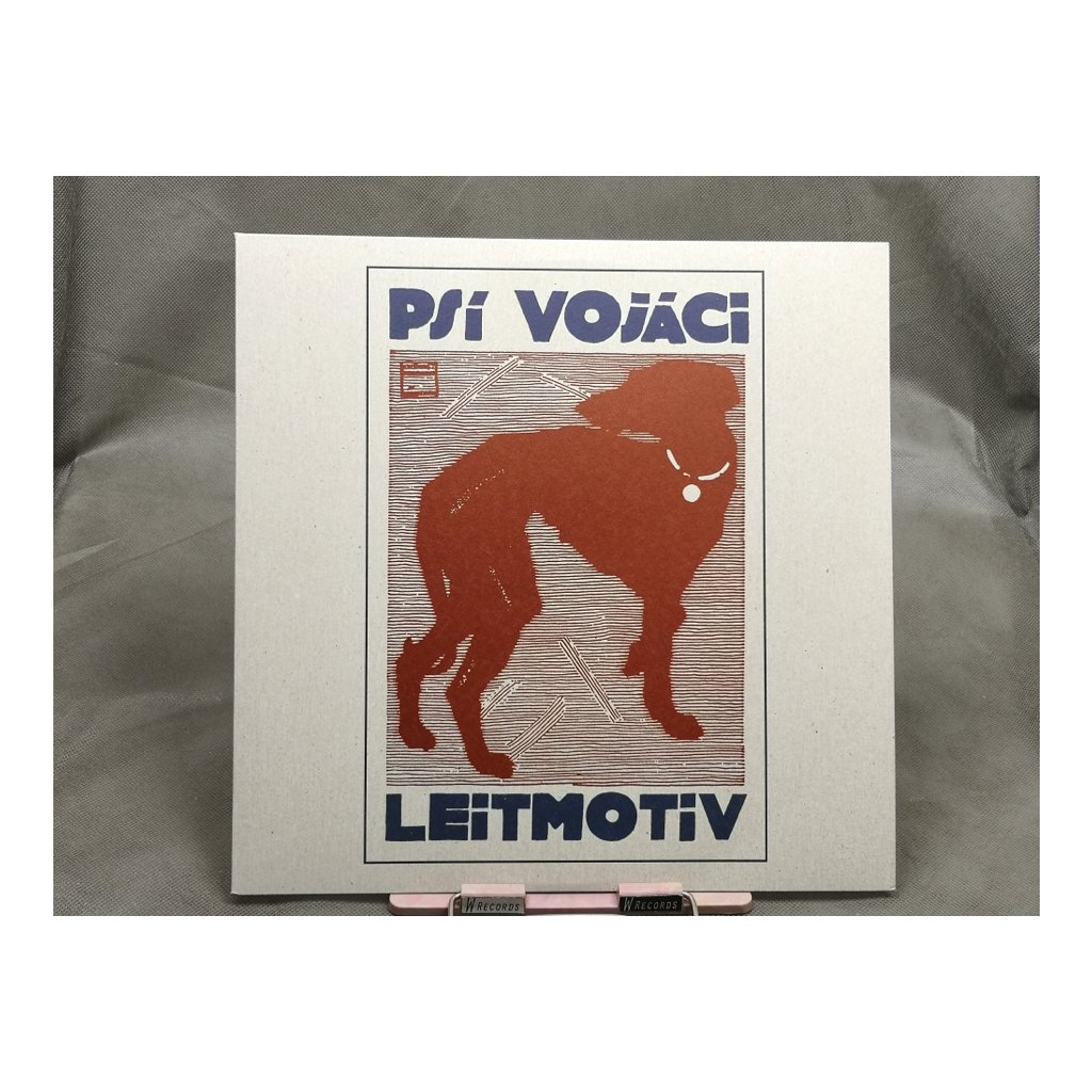 Psí Vojáci – Leitmotiv (červený vinyl)