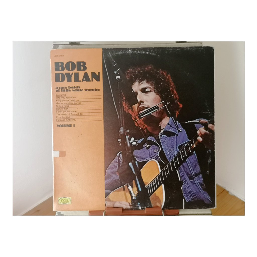 Bob Dylan ‎– A Rare Batch Of Little White Wonder Volume 1