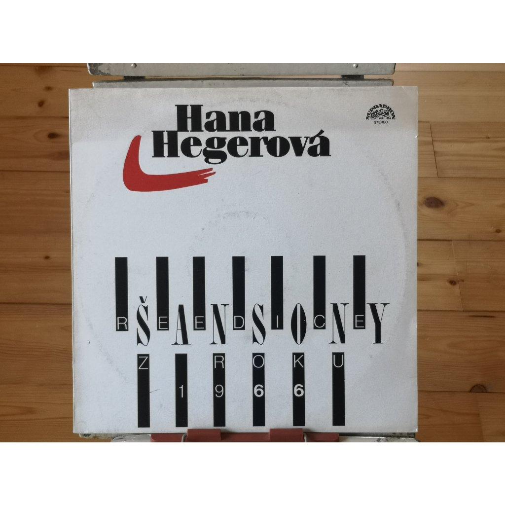 Hana Hegerová – Šansony (Reedice Z Roku 1966)