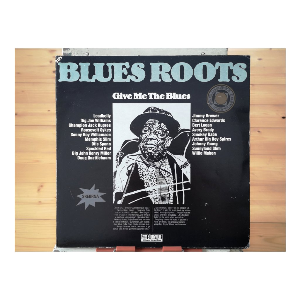 Various ‎Artists – Give Me The Blues (The Living Tradition)