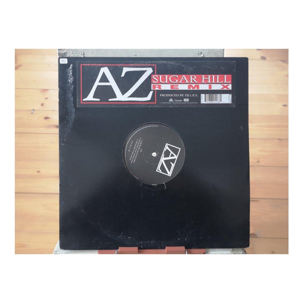 "AZ – Sugar Hill (Remix) 12"""