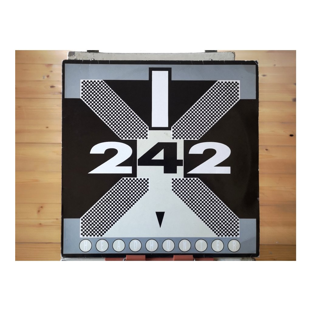 Front 242 ‎– Headhunter 12""