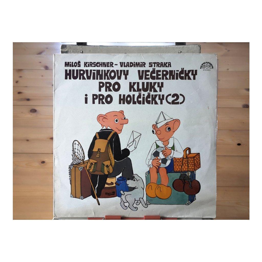 Spejbl & Hurvínek / Miloš Kirschner - Vladimír Straka – Hurvínkovy Večerníčky Pro Kluky I Pro Holčičky (2)