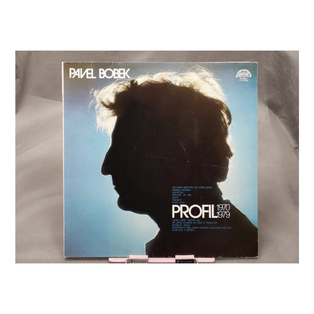 Pavel Bobek – Profil 1970 - 1979 LP