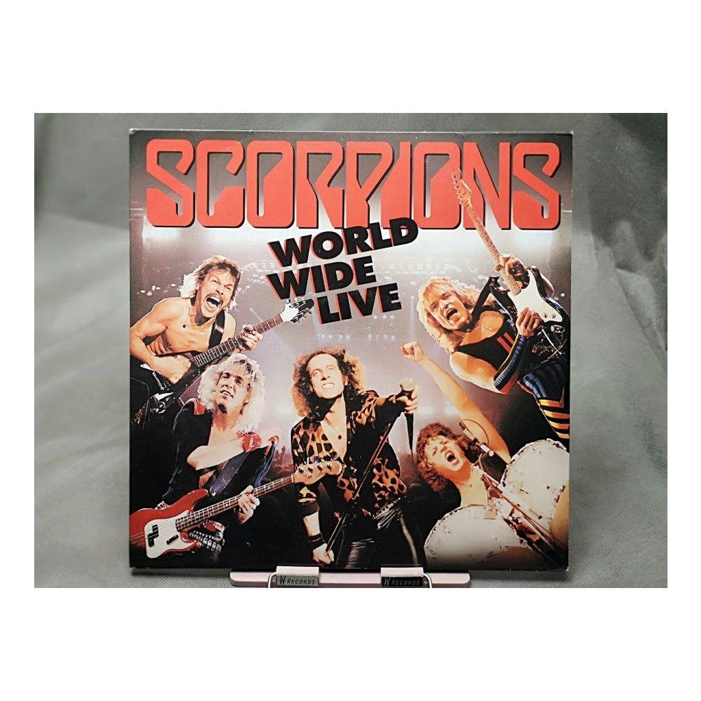 Scorpions – World Wide Live 2LP