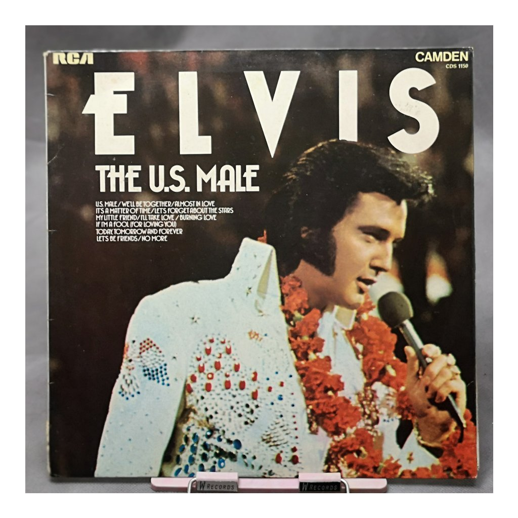 Elvis Presley – The U.S. Male LP