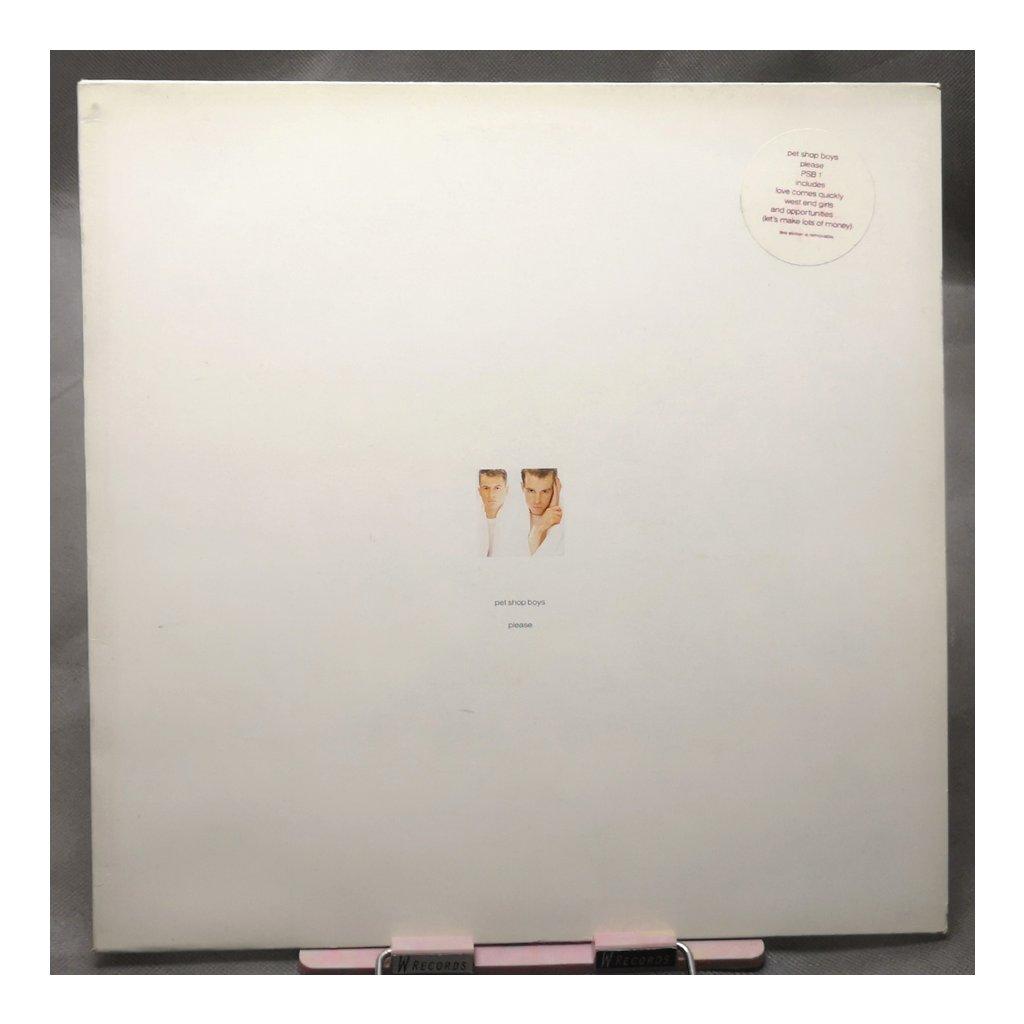 Pet Shop Boys – Please LP