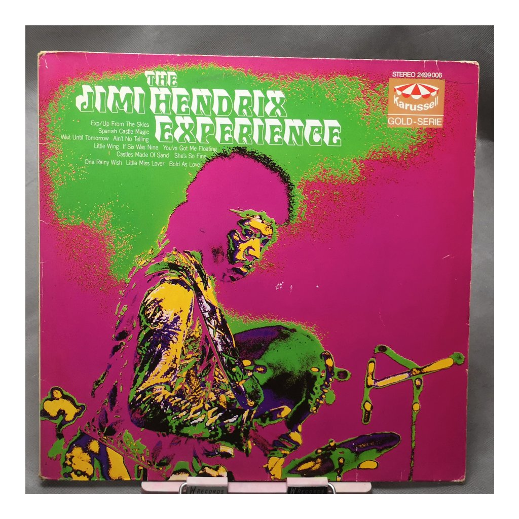 The Jimi Hendrix Experience – The Jimi Hendrix Experience LP