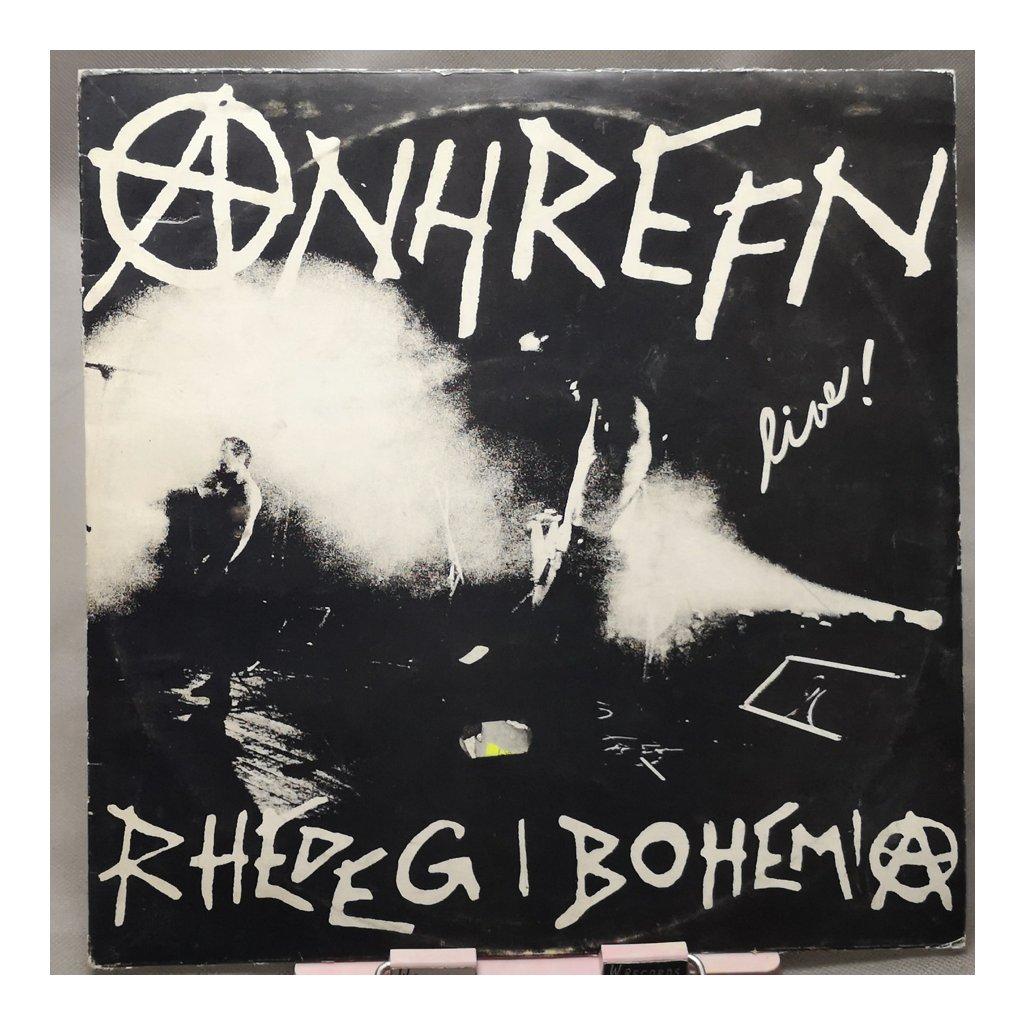 Anhrefn – Live! Rhedeg I Bohemia LP