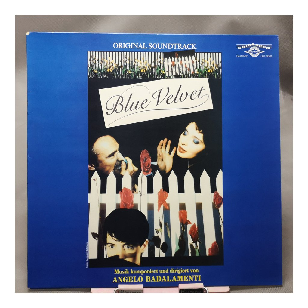 Angelo Badalamenti – Blue Velvet (Original Soundtrack) LP
