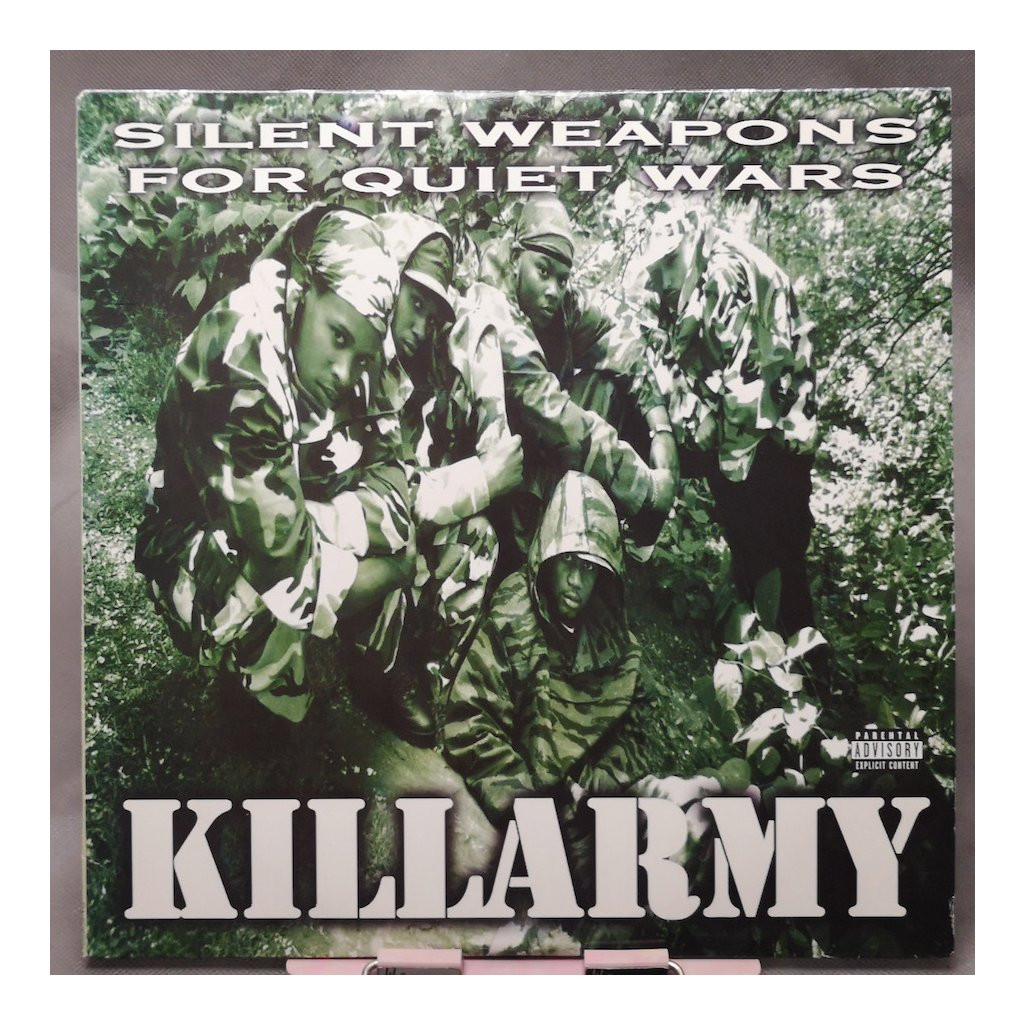 Killarmy – Silent Weapons For Quiet Wars 2LP