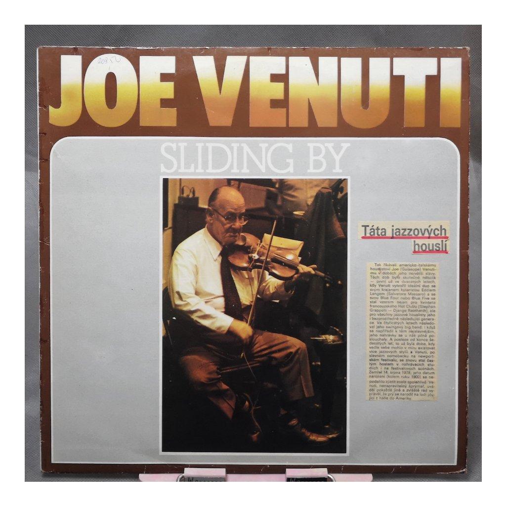 Joe Venuti With Dick Hyman & Bucky Pizzarelli – Sliding By LP