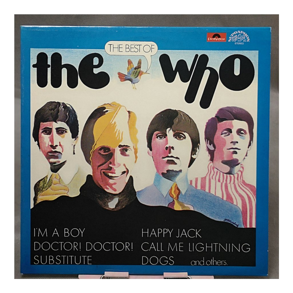 The Who – The Best Of The Who LP